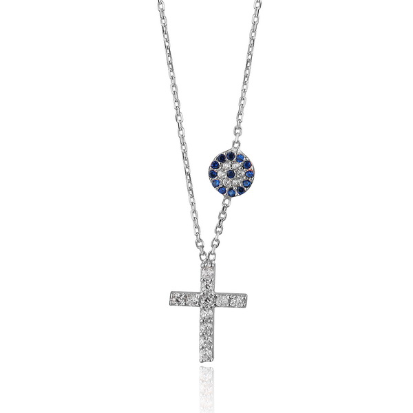 cosar-sterling-silver-cross-necklace