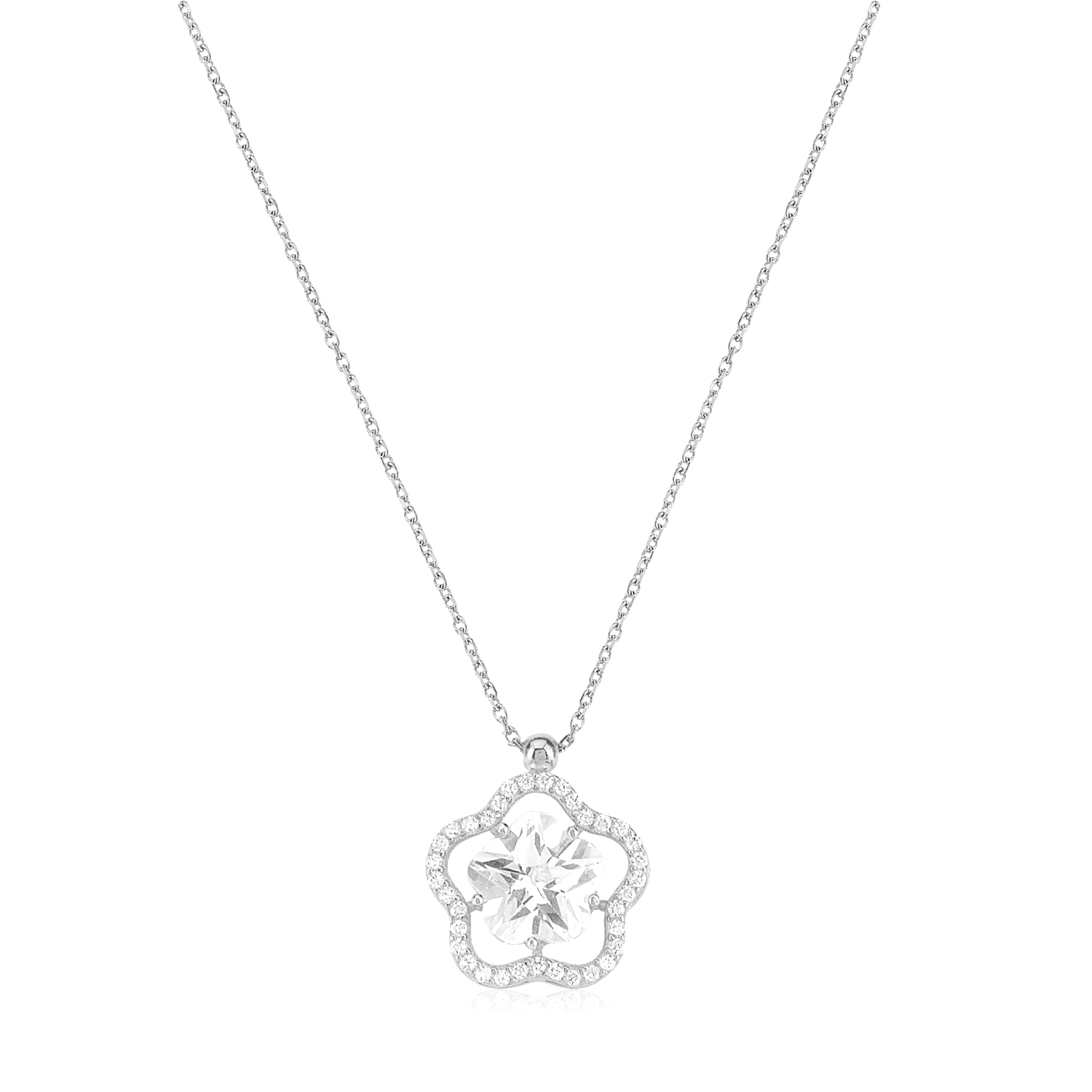 cosar-silver-925-sterling-silver-round-pave-necklace