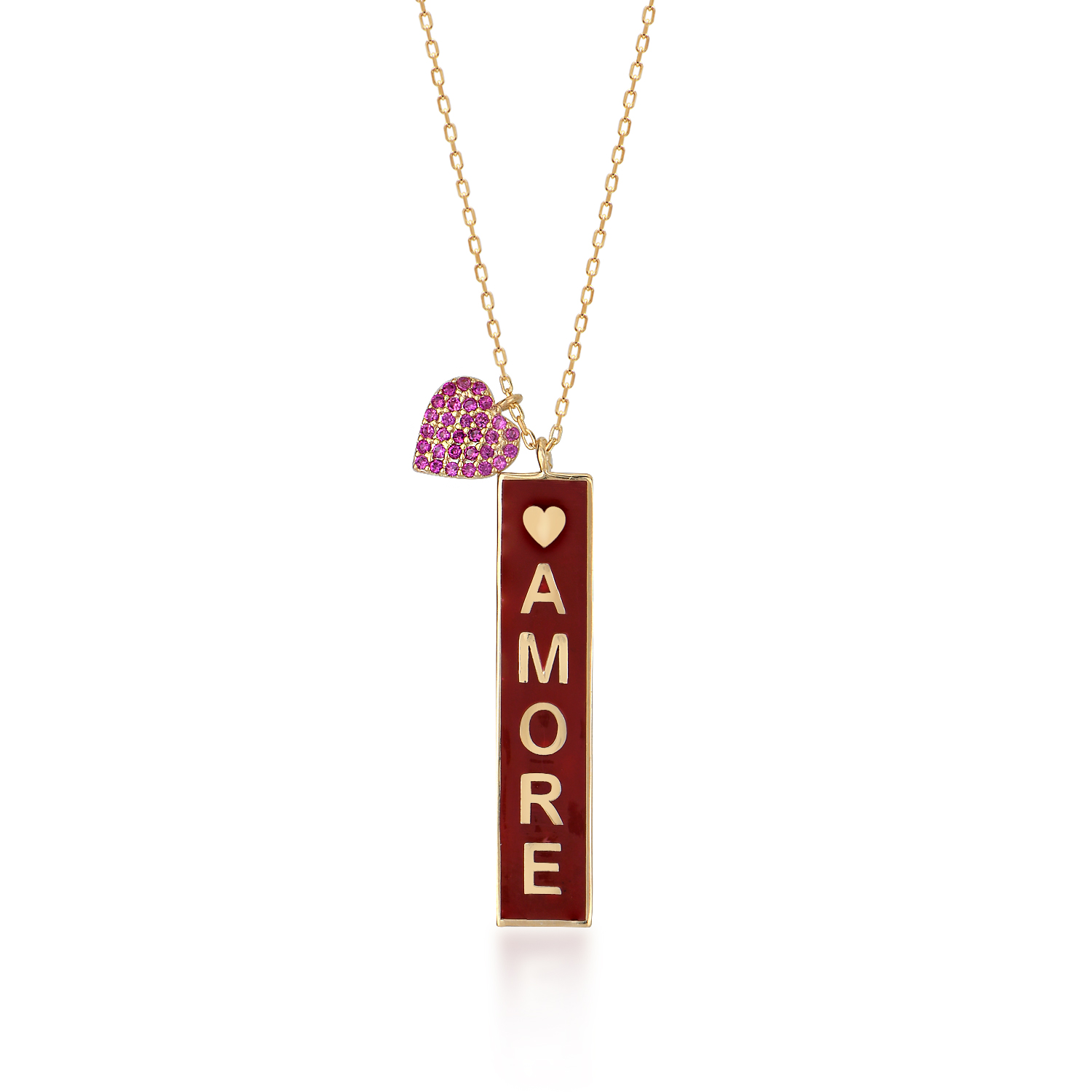 cosar-silver-sterling-silver-925-necklace-with-amore-written-heart-plate