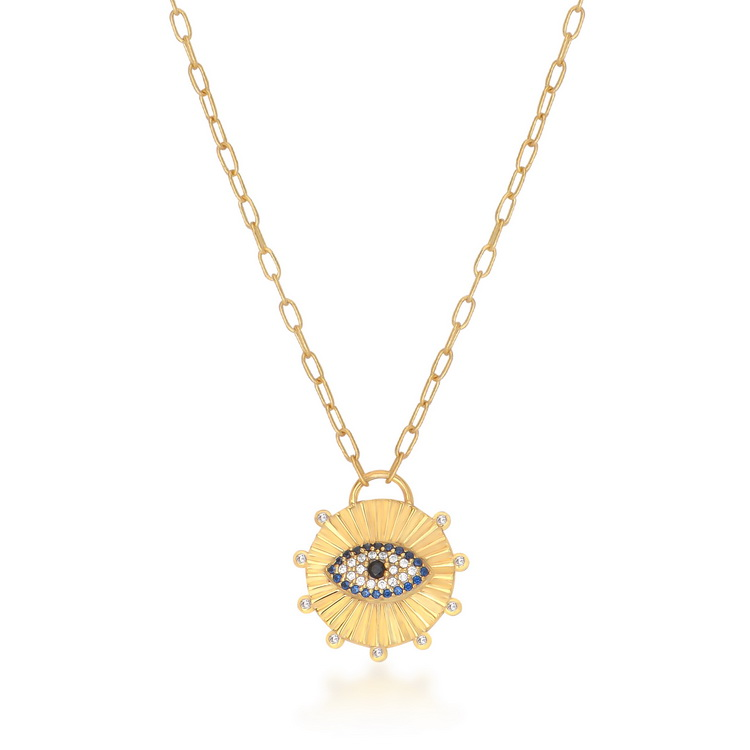 cosar-silver-sterling-silver-925-eye-necklace